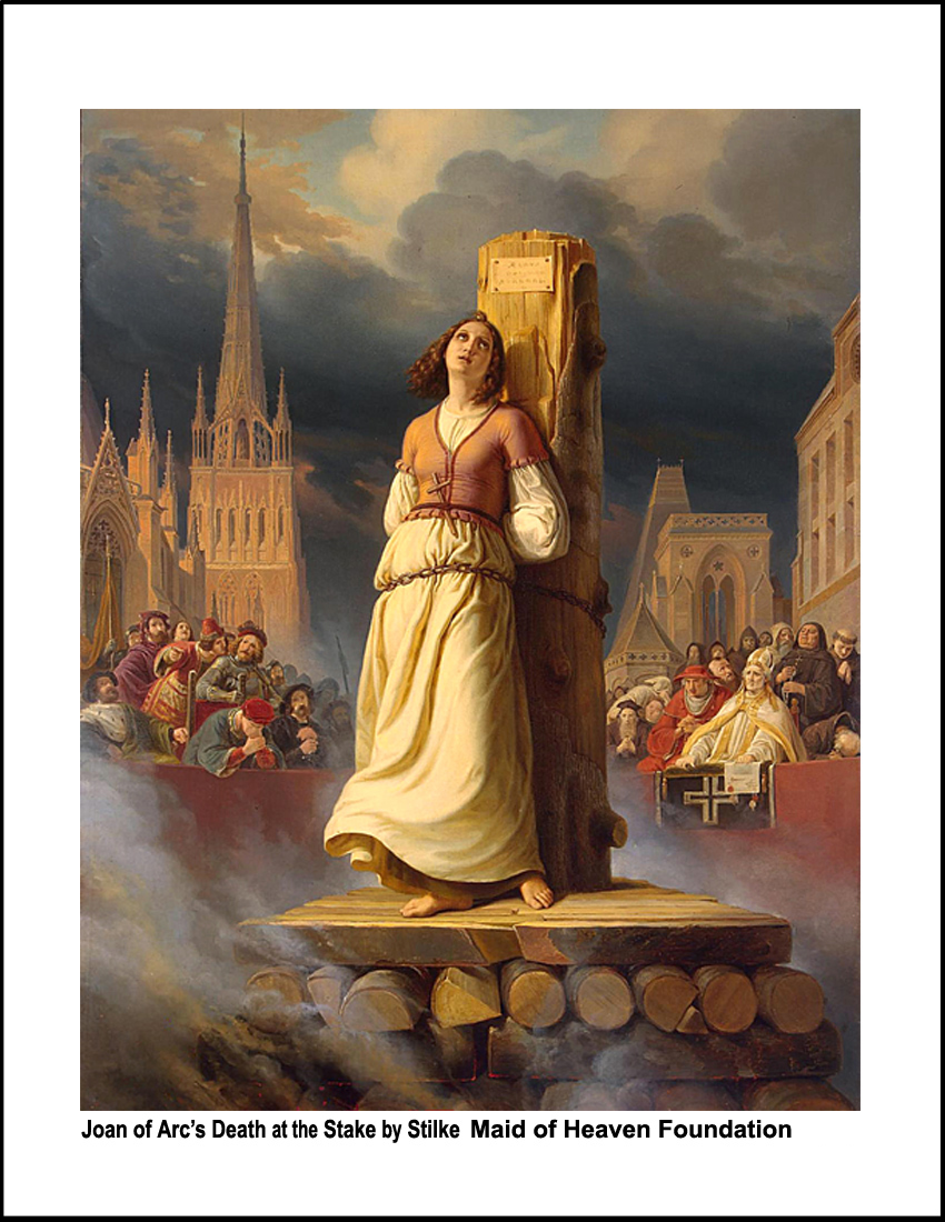 Joan of Arc Print of the year
